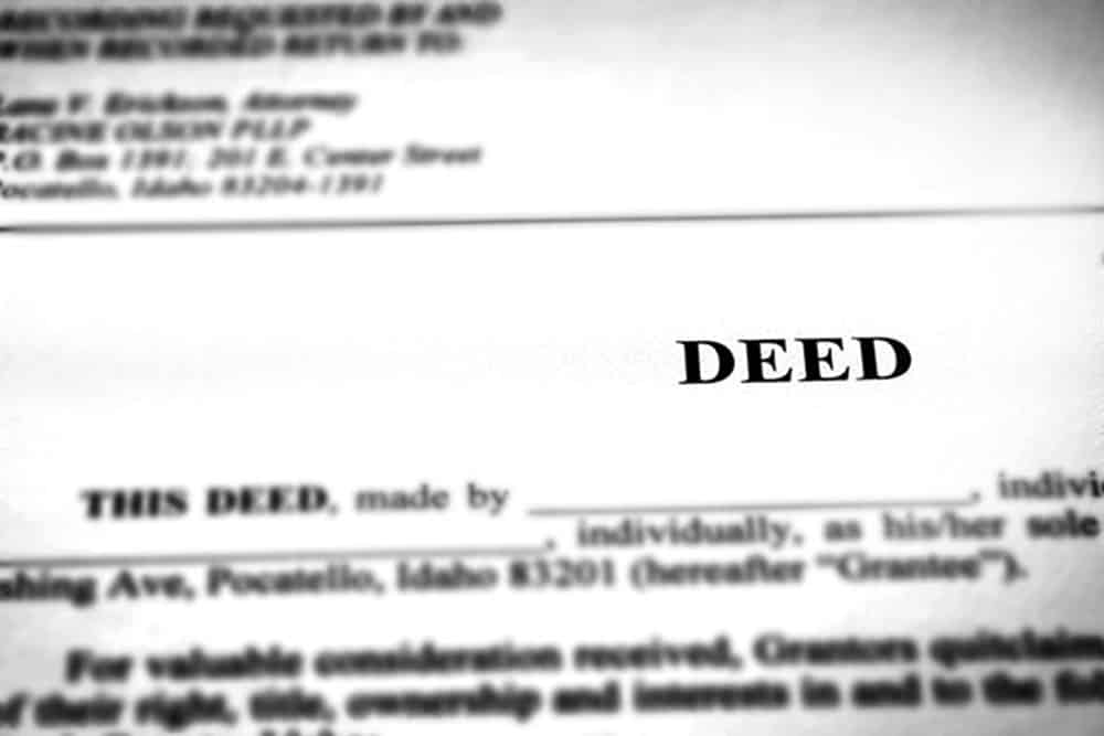 What is a Deed When Selling Your House?